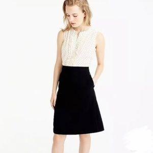 J. Crew | Polka Dot Sheath Dress Size 4